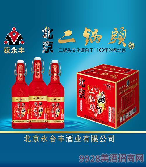 �@永�S北京二��^酒42度52度500ml�t瓶