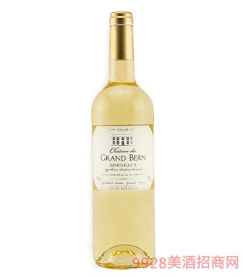 博恩�f�@半甜白葡萄酒11度