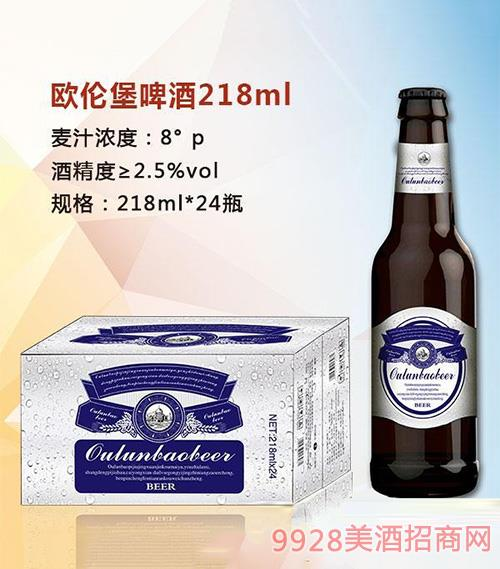 �W��堡啤酒218mlx24白��