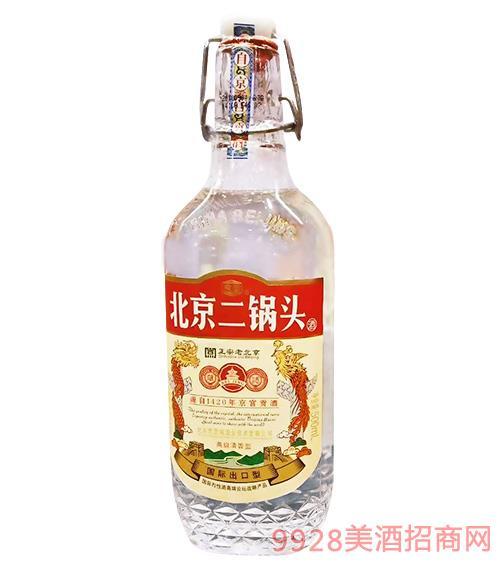 北京二��^酒���H出口型�t��500ml