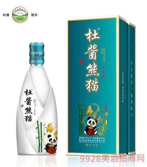 杜酱熊猫酒53度500ml