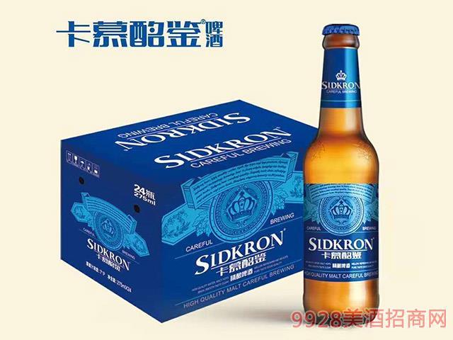 卡慕酩�b啤酒275ml