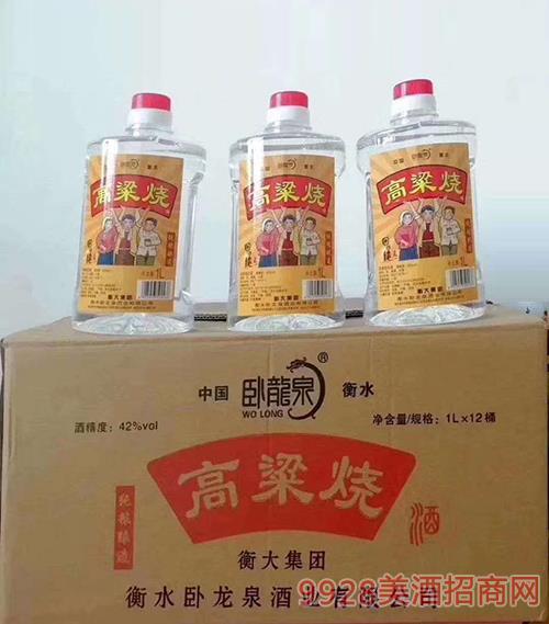 �P��泉高粱��酒42度1Lx12桶