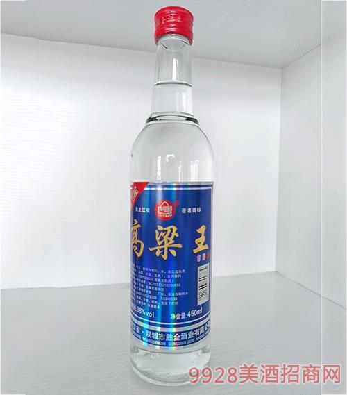 古崖居高粱王酒-38度450ml