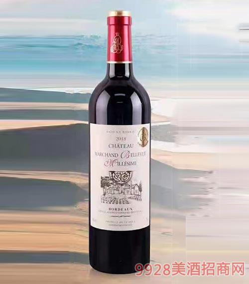 法国 赛拉图波尼候 思朗城堡干红葡萄酒