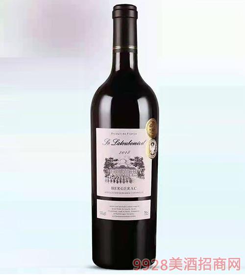 法国-赛拉图波尼候-德隆干红葡萄酒