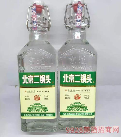 京道二锅头酒-绿标