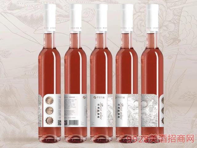 予花予尚玫瑰�r�酒7度375ml