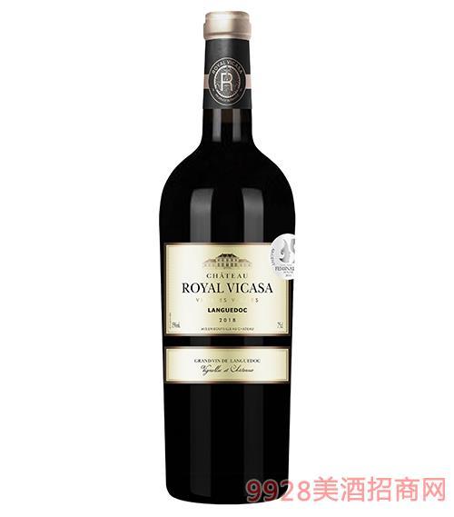 皇家维卡萨·迪维斯干红葡萄酒15度750ml