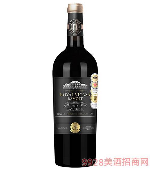 皇家维卡萨·拉莫夫干红葡萄酒14.5度750ml