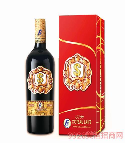 歌图人生 荣耀 GT99干红葡萄酒