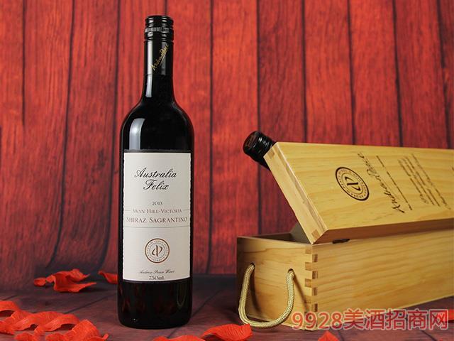 菲利斯西拉子沙朗提诺干红葡萄酒