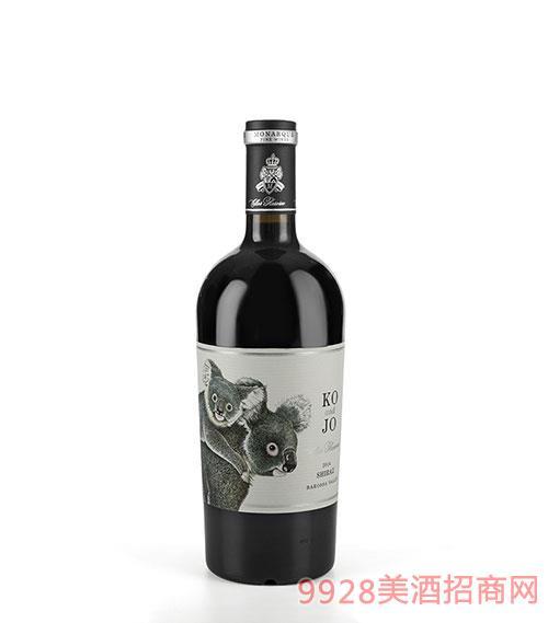 摩纳克庄园2014精选考拉干红葡萄酒