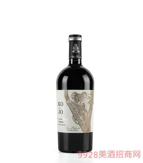 摩纳克庄园2016签名款考拉干红葡萄酒