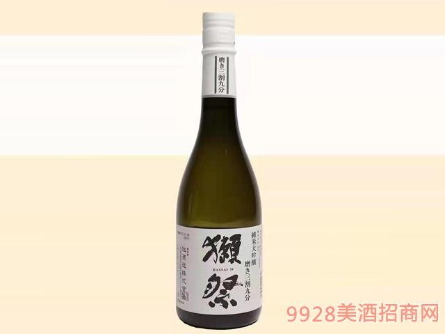 獭祭酒三割九分39-16度720ml