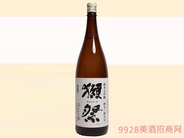獭祭酒三割九分39-16度1.8L