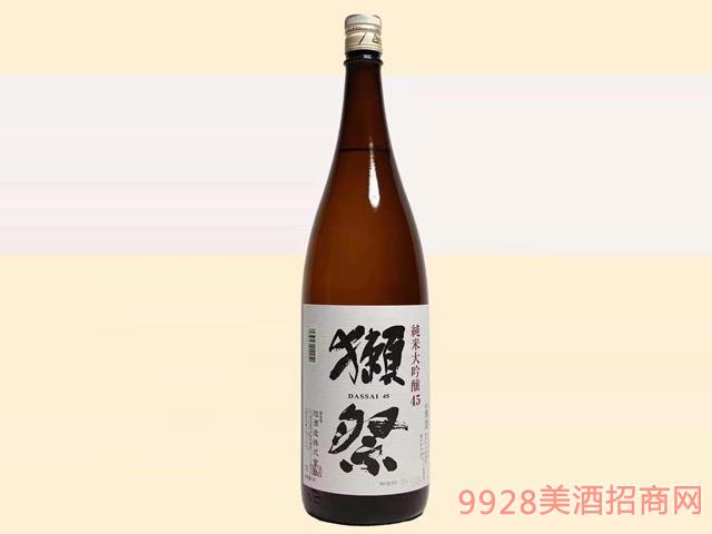 獭祭酒45-16度1.8L