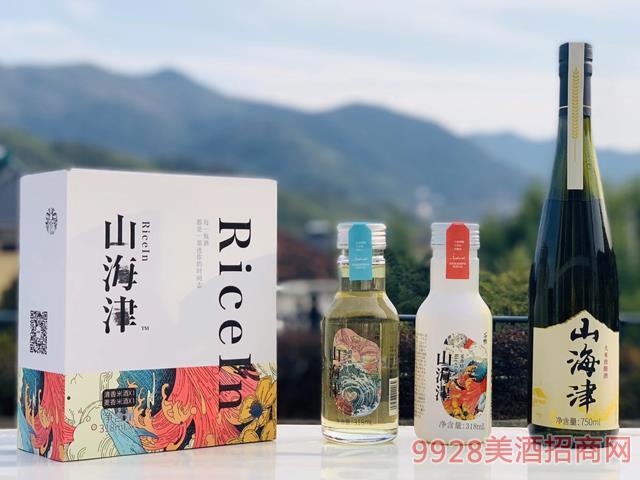 山海津精酿米酒318ml