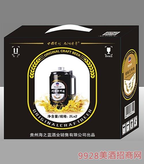 茅台镇原浆精酿黑啤酒11°P 2Lx2