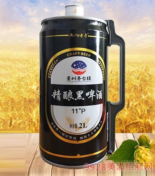 茅台镇原浆精酿黑啤酒11°P 2L