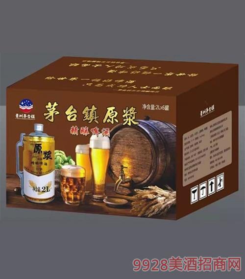茅台镇原浆精酿啤酒2Lx6