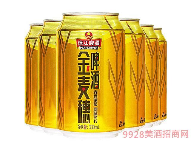珠江啤酒-10度-金麦穗
