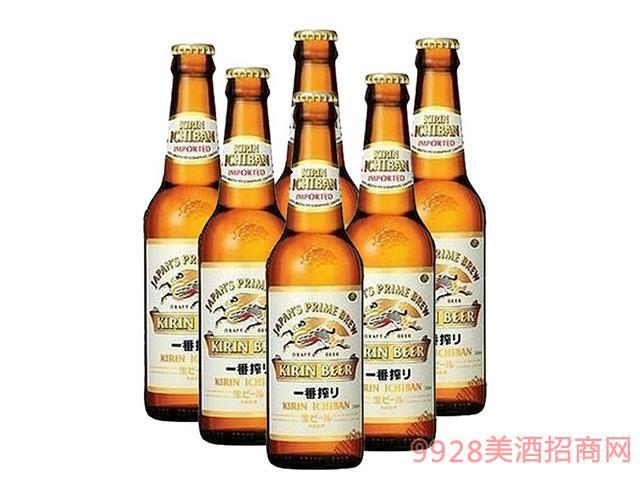 麒麟一番榨全麦啤酒-330ml