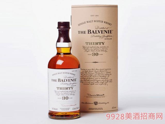 百富30年2013年装瓶威士忌