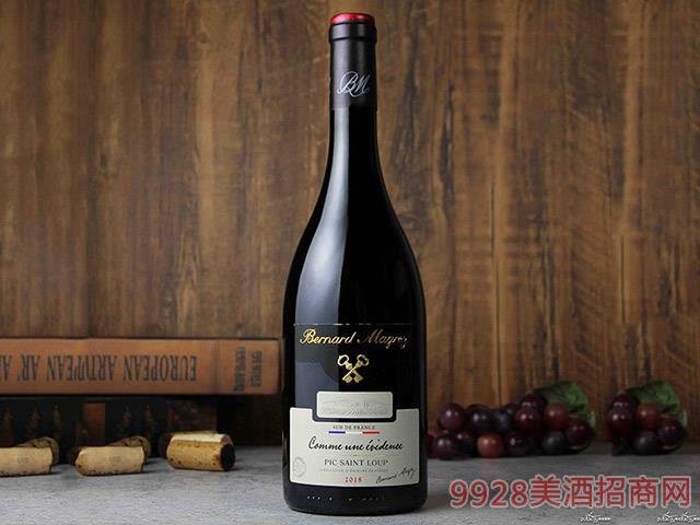 法��皮克-圣路���格雷圣狼峰�t葡萄酒