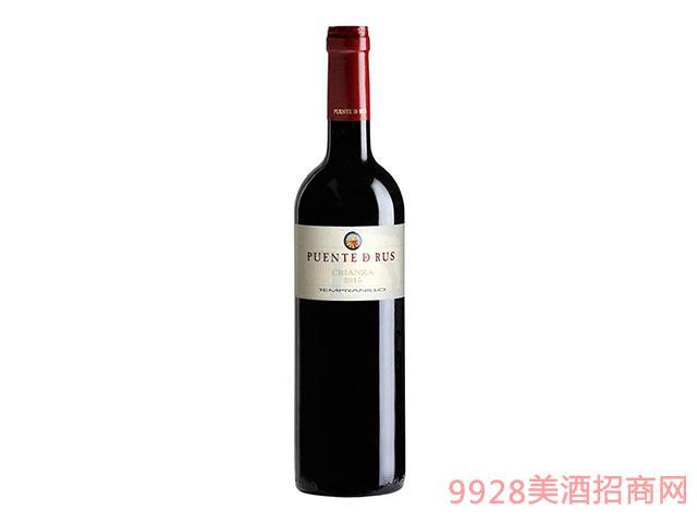 西班牙Puentes-de-Rus-Crianza干红葡萄酒