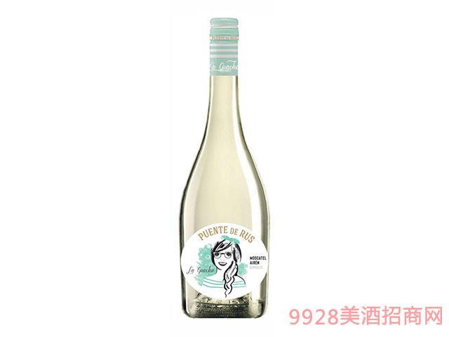 西班牙Puentes-de-La-Guarcha-Blanco半甜白葡萄酒
