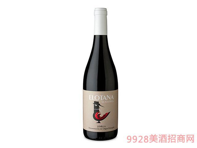 西班牙Elotana干红葡萄酒