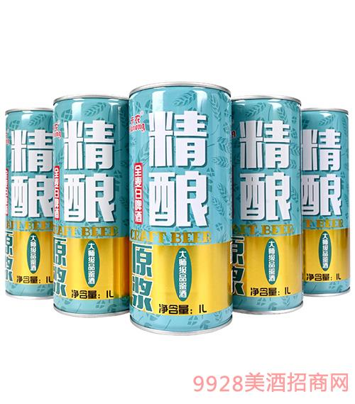 卡�r精�全��白啤酒-1L