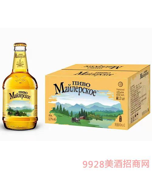 �~勒啤酒(大肚子瓶)450ml