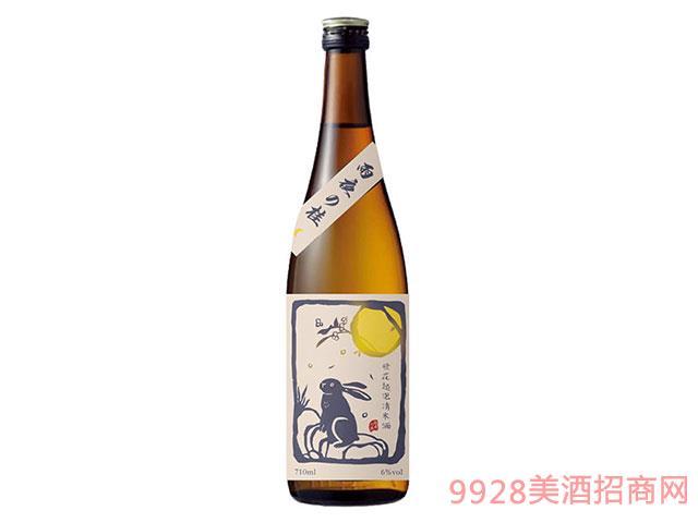 桂花起泡清米酒