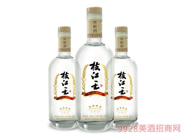 四星枝江王��Z酒42度500ml
