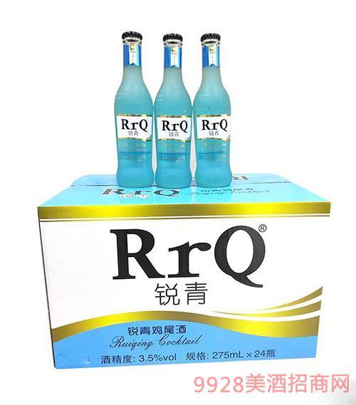 锐青鸡尾酒(蓝瓶)3.5度275ml×24瓶