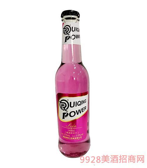 UIQINGPOWER美国新动力鸡尾酒(红瓶)3.5度275ml