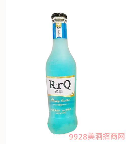 锐青果味鸡尾酒(蓝瓶)3.5度275ml