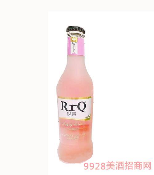 锐青果味鸡尾酒(粉瓶)3.5度275ml