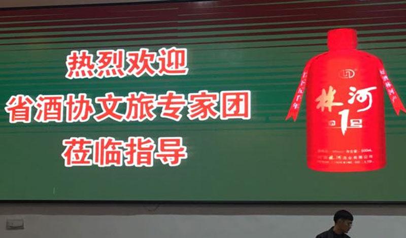 河南省酒协文旅专家团莅临林河酒业指导