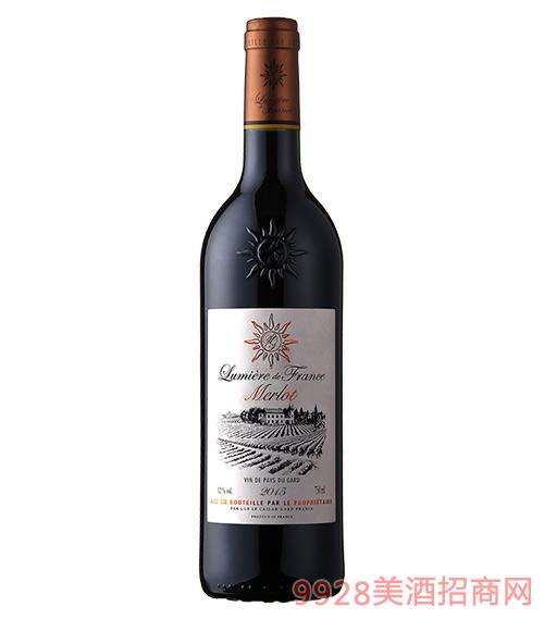 法国之光・梅洛干红葡萄酒