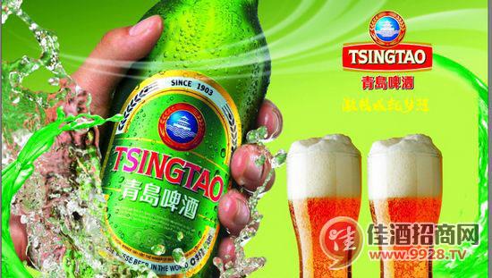 青岛啤酒 品醇鲜活有道