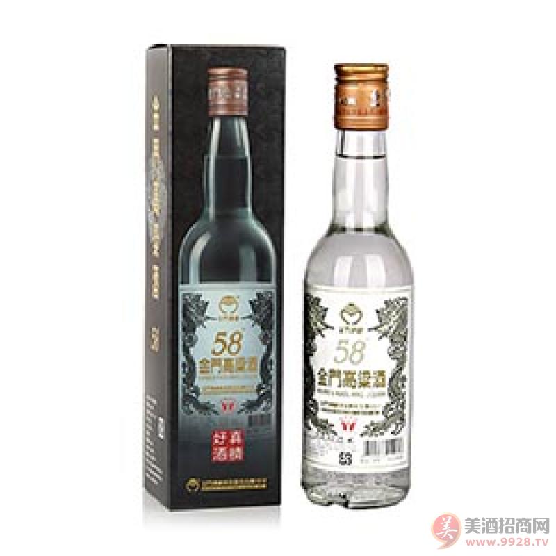 供应金门高粱酒白金龙500ml