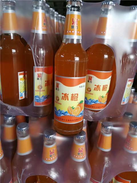 鼎力冰橙果啤新鲜上市