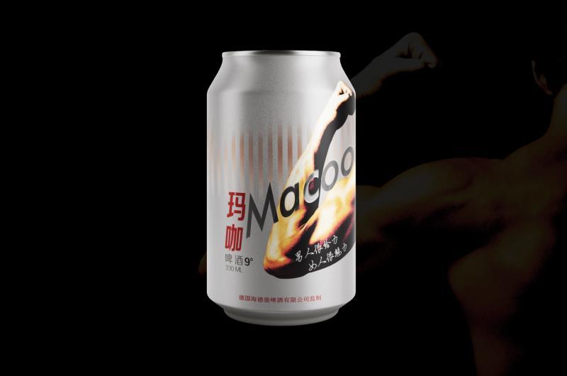 易拉罐夜场啤酒 玛咖啤酒