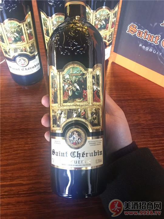 天使之门 圣天使干红葡萄酒