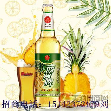 水果味啤酒易拉罐便宜批发/500毫升菠萝啤加盟晋江/南安