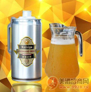 1升2升5升啤酒桶装精酿原浆啤酒山东啤酒厂家直供批发