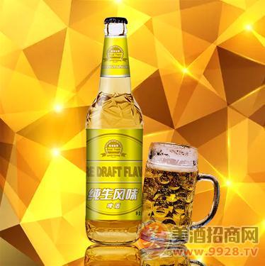 500毫升流通大瓶啤酒批发/简装便宜易拉罐啤酒供应招商